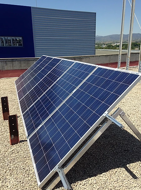 Panell solar fotovoltaico